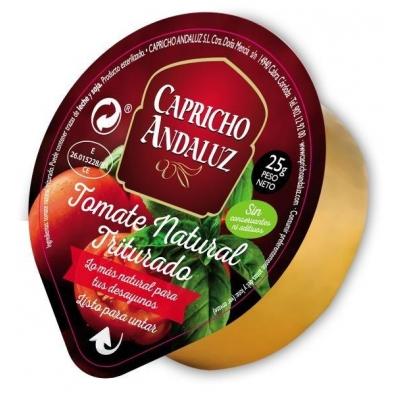 Monodosis tomate crudo