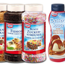 Decoración Dr. Oetker